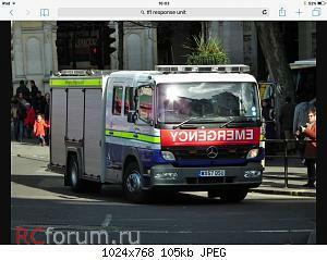 Нажмите на изображение для увеличения Название: Fire Brigade - Mercedes Atego Transport For London Response Unit 03.jpg Просмотров: 13 Размер:104.5 Кб ID:4196651