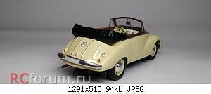 Нажмите на изображение для увеличения Название: IFA F9 Cabriolet 1952 (6).jpg Просмотров: 4 Размер:94.4 Кб ID:5940997