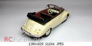 Нажмите на изображение для увеличения Название: IFA F9 Cabriolet 1952 (10).jpg Просмотров: 3 Размер:111.2 Кб ID:5941001